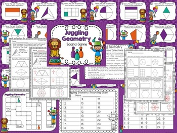 Geometry Games with Printables