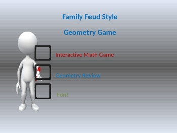 Geometry Game Classroom Feud Style Game