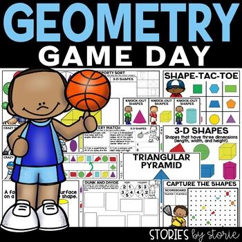 Geometry Games & Worksheets