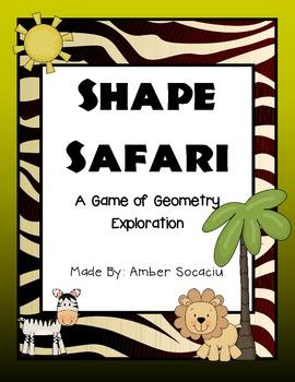 Geometry Game - Shape Safari