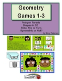 Geometry Games 1-3