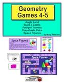 Geometry Games 4-5
