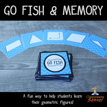 Geometry Games: Go Fish and Memory