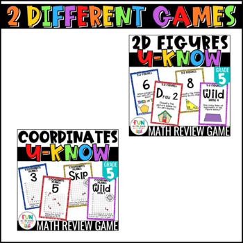 Geometry Games | U-Know Geometry Review Games MINI Bundle {5th Grade}