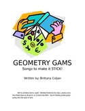 Geometry Gams- Songs to Make it Stick