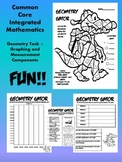 Geometry Gator-Common Core-Geometry,Graphing,and Measuring-Integrated