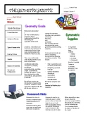 Geometry Gazette Syllabus