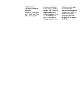 Geometry Gazette  - Syllabus for College Prep Geometry