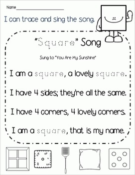 Geometry Geniuses: Square