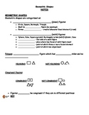 Geometry & Geometric Shapes (Elementary) - Lesson Unit, Materials & Activities