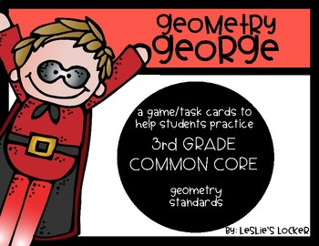 Go Math! 3rd Grade Geometry Game