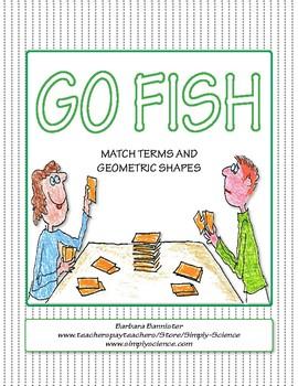 Geometry Go Fish ★ FREEBIE ★
