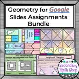 Geometry Google Drive Resources Bundle
