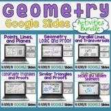 Geometry Google Slides Activity Bundle - Digital Resource