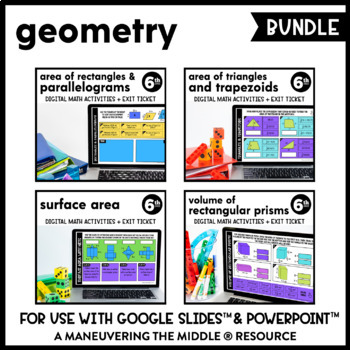 Geometry - Google Slides™ Supplemental Digital Math Activities