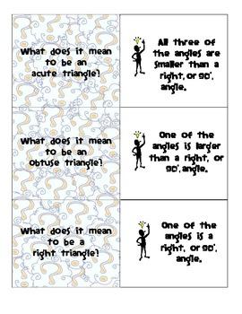 Geometry: Gr. 4 Flashcards (Go Math ch 10)