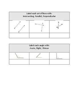 Geometry Grade 2 Assessment