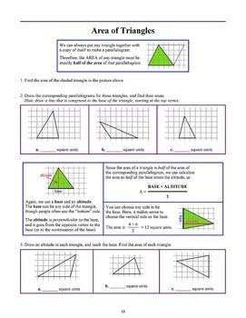 Geometry, Grade 6