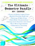 Geometry - Grade 6-8 Common Core Geometry Standards Bundle - 27 Weeks of Lessons