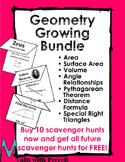 Geometry Growing Scavenger Hunt Bundle