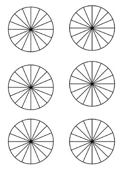 Geometry Guided Interactive Math Notebook Page: Area Exploration: Circle Area
