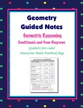 Geometry guided interactive math notebook page conditionals and geometry guided interactive math notebook page conditionals and venn diagrams ccuart Image collections