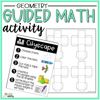 Geometry Guided Math Activity Cityscape