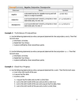 Geometry Guided Notes – 2.2 Logic