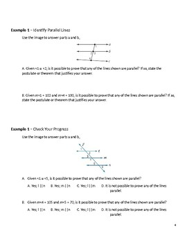 Geometry Guided Notes – 3.6 Perpendiculars and Distance