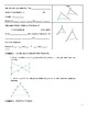 Geometry Guided Notes – 7.3 Similar Triangles