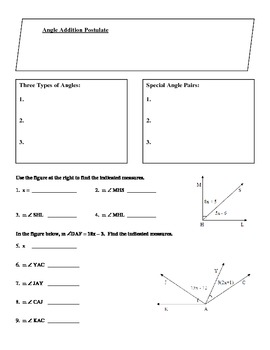Geometry Guided Notes:  Chapter 1 Exploring Geometry