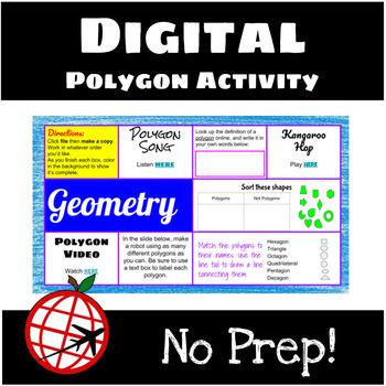 Polygon HYPERDOC- Google Slides