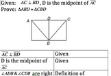 Geometry Honors Proof Activity (SSS,SAS,ASA,AAS)