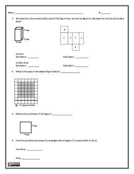 Geometry I Assessment