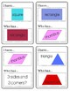 Geometry: I Have, Who Has... (2D & 3D Shapes)