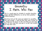 Geometry: I have, Who Has