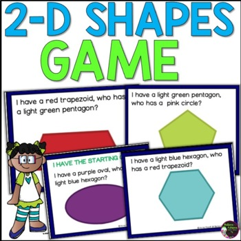 I have, Who has? 2D Shapes Game