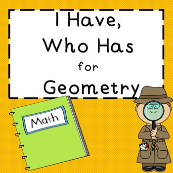 Geometry I have, Who has