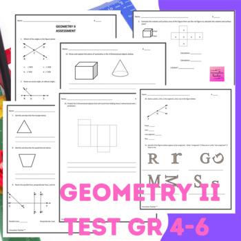 Geometry II Assessment