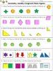 Geometry: Identify Congruent Plane Figures Practice Sheets - King Virtue