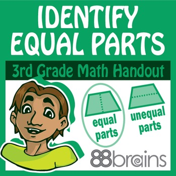 Geometry: Identify Equal Parts pgs.35-37 (CCSS)
