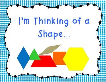 Geometry: I'm Thinking of a Shape