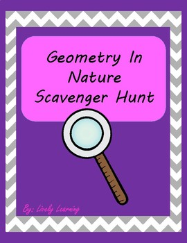 Geometry In Nature Scavenger Hunt
