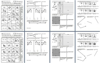 Geometry Individual Test Introductory Material Fall 2013; 2 versions; 4 pages ea