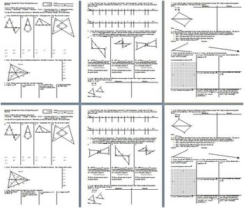 Geometry Individual Test Proving Triangles Congruent Fall 2013