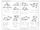Geometry - Inequalities in Two Triangles - Hinge Theorem and Converse Foldable