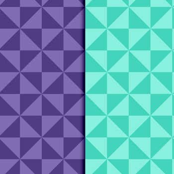 """Geometry"" Inspired Geometric Digital Papers – No. 1"