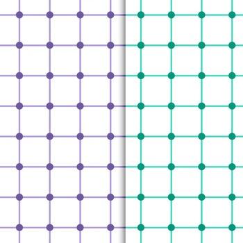 """Geometry"" Inspired Geometric Digital Papers – Sample"