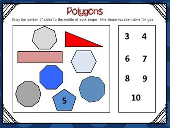 Geometry Interactive Google Slides (for use with Google Classroom)