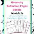 Geometry Interactive Math Notebook {Reflection}: (Bundle)
